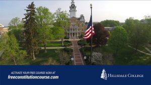 Hugh Hewitt for Hillsdale's Constitution 101